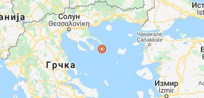 Земљотрес на Светој Гори