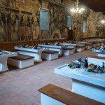 Обновљена хиландарска трпезарија