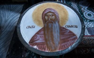 Благодарење поводом избора Патријарха Порфирија на празник Преподобног Симеона у Хиландару