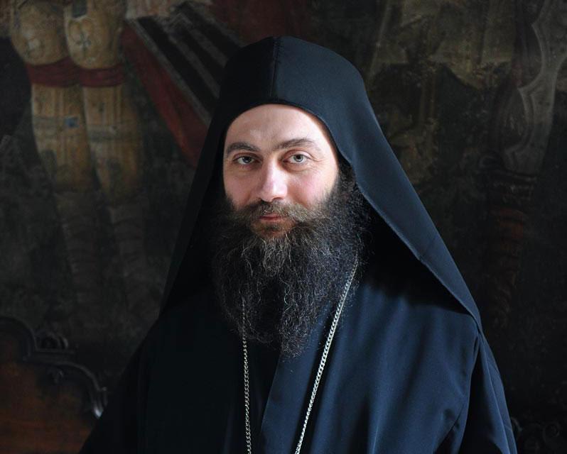 Честитка Патријарху Порфирију хиландарског игумана Методија
