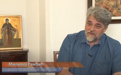 О Хиландару говори Миливој Ранђић за ТВ Корени (видео)