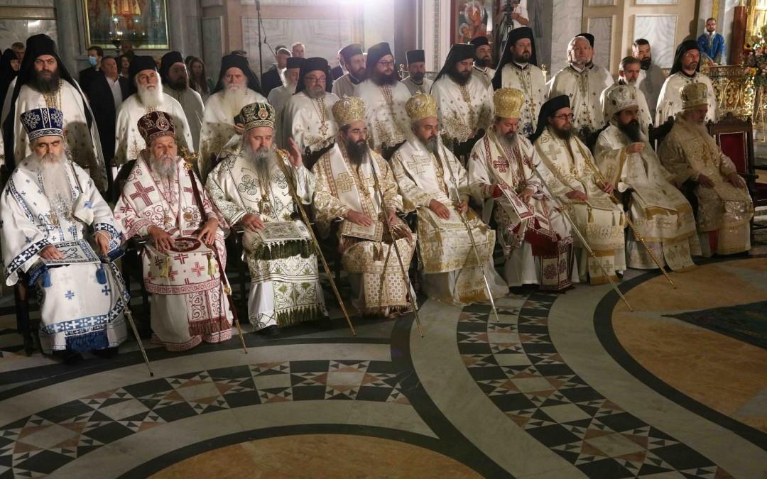 Игуман Методије на хиротонији Епископа Јустина у Београду